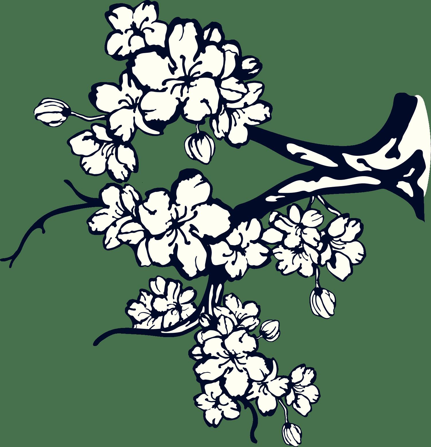 branch flowers