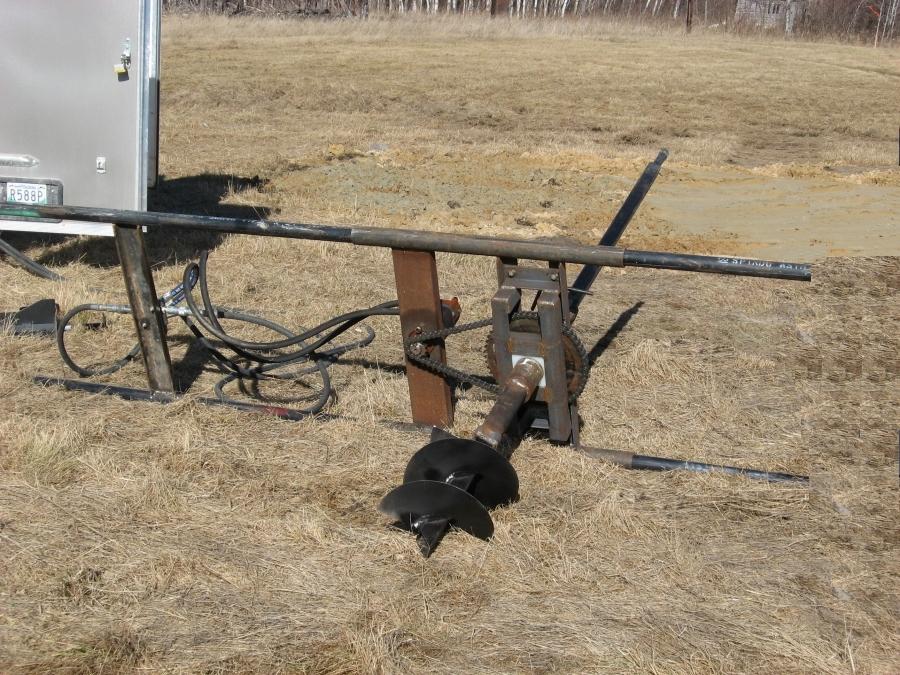 screwpile rig