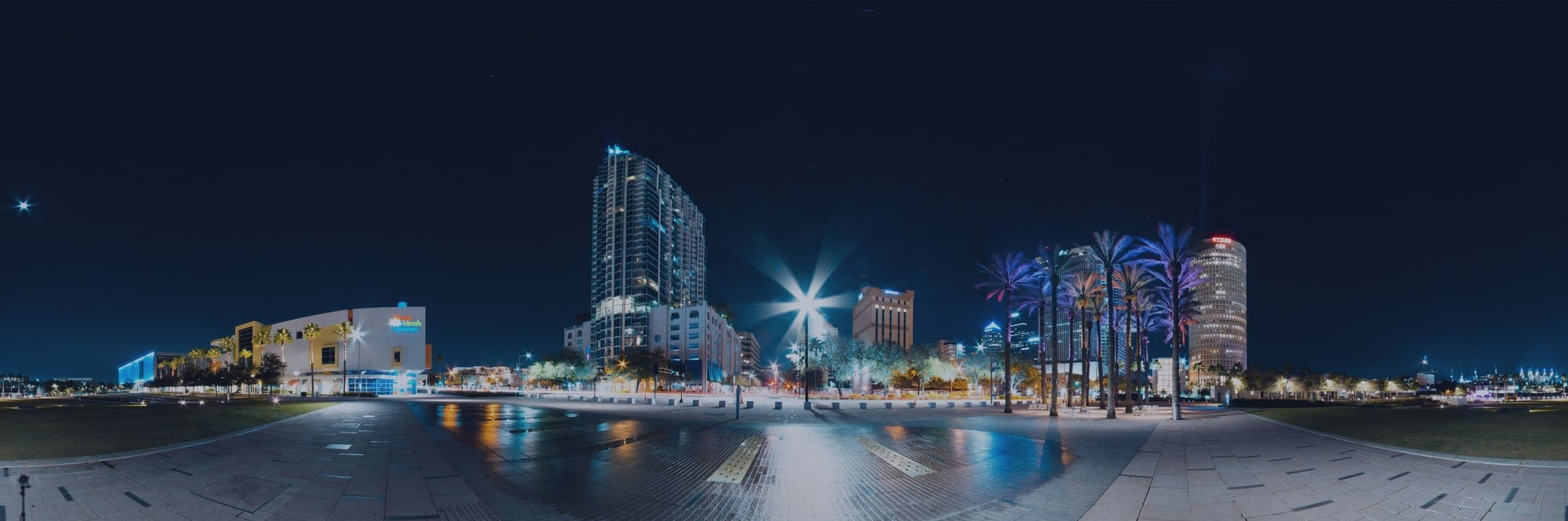 Tampa skyline hero image