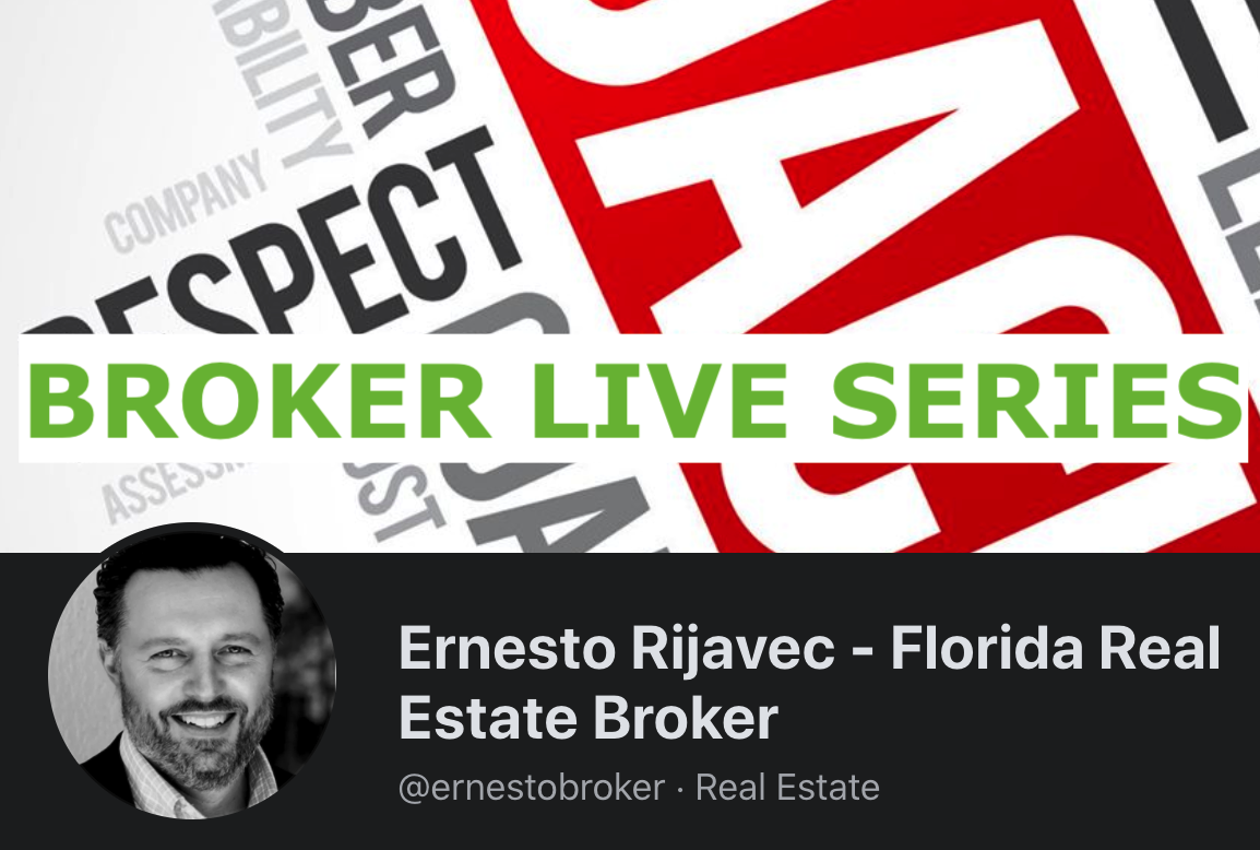 Ask-Me-Anything with Broker Ernesto Rijavec