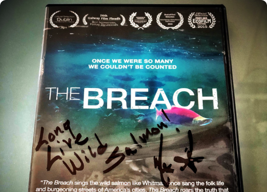 The Breach Signed DVD with Download