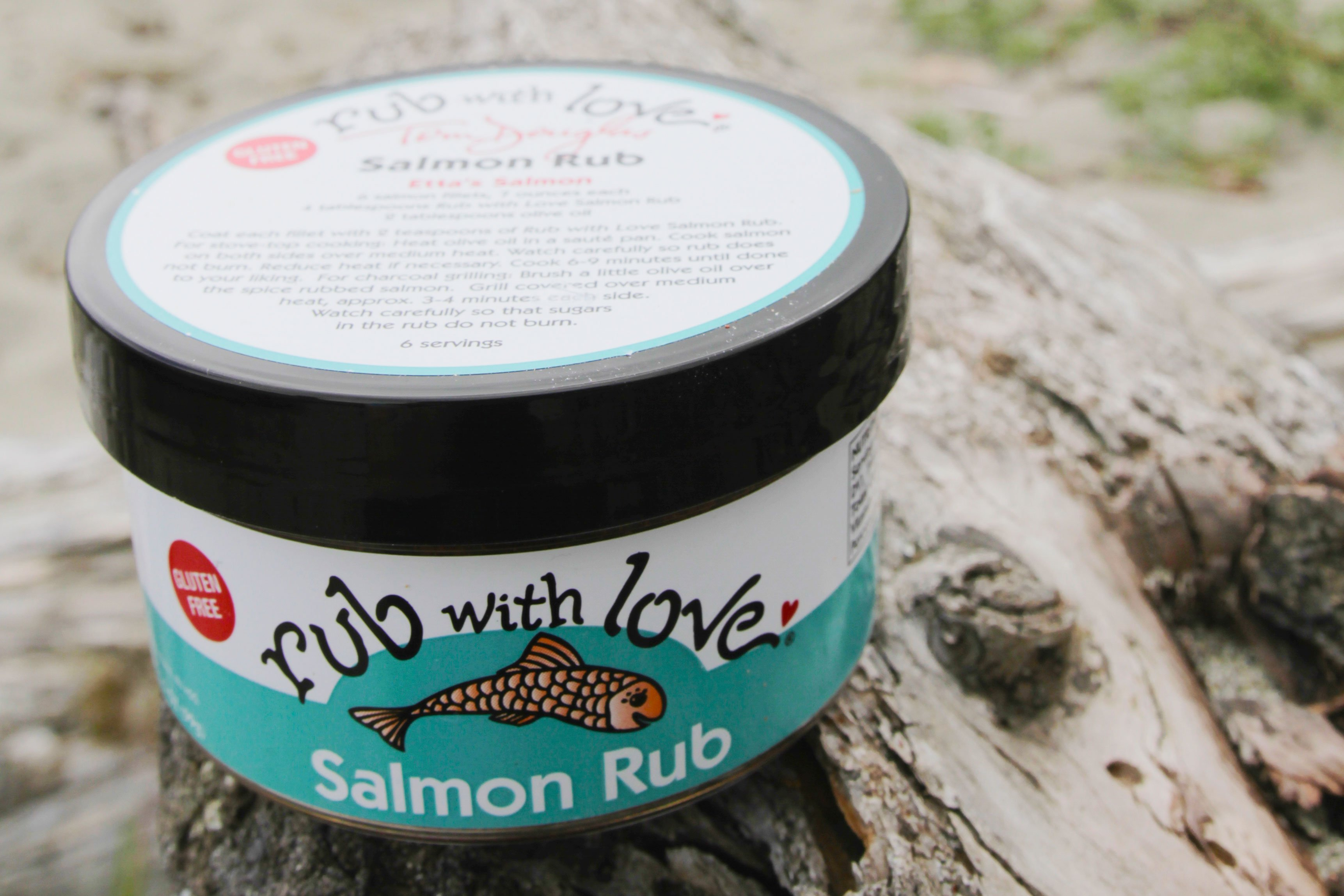 Rub with Love ~ Salmon Rub