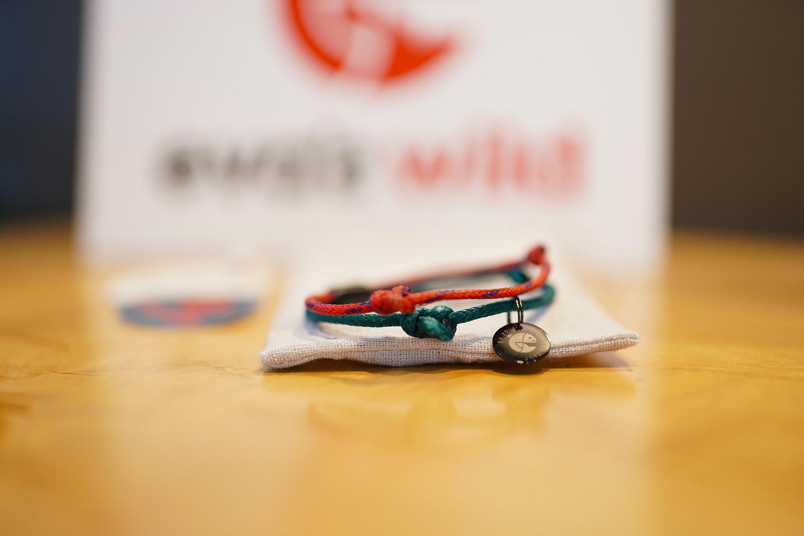 Eva x Bracenet - Recycled Fishnet Bracelet