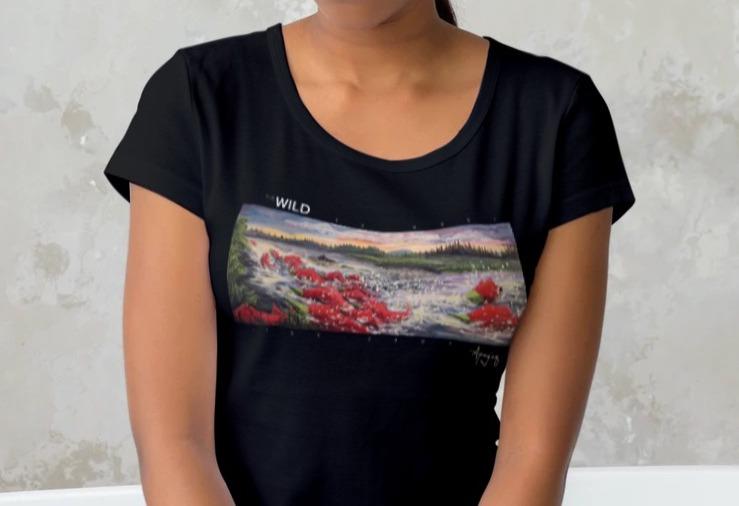 The Wild - Apay'uq Moore Tour Shirt (Low cut)