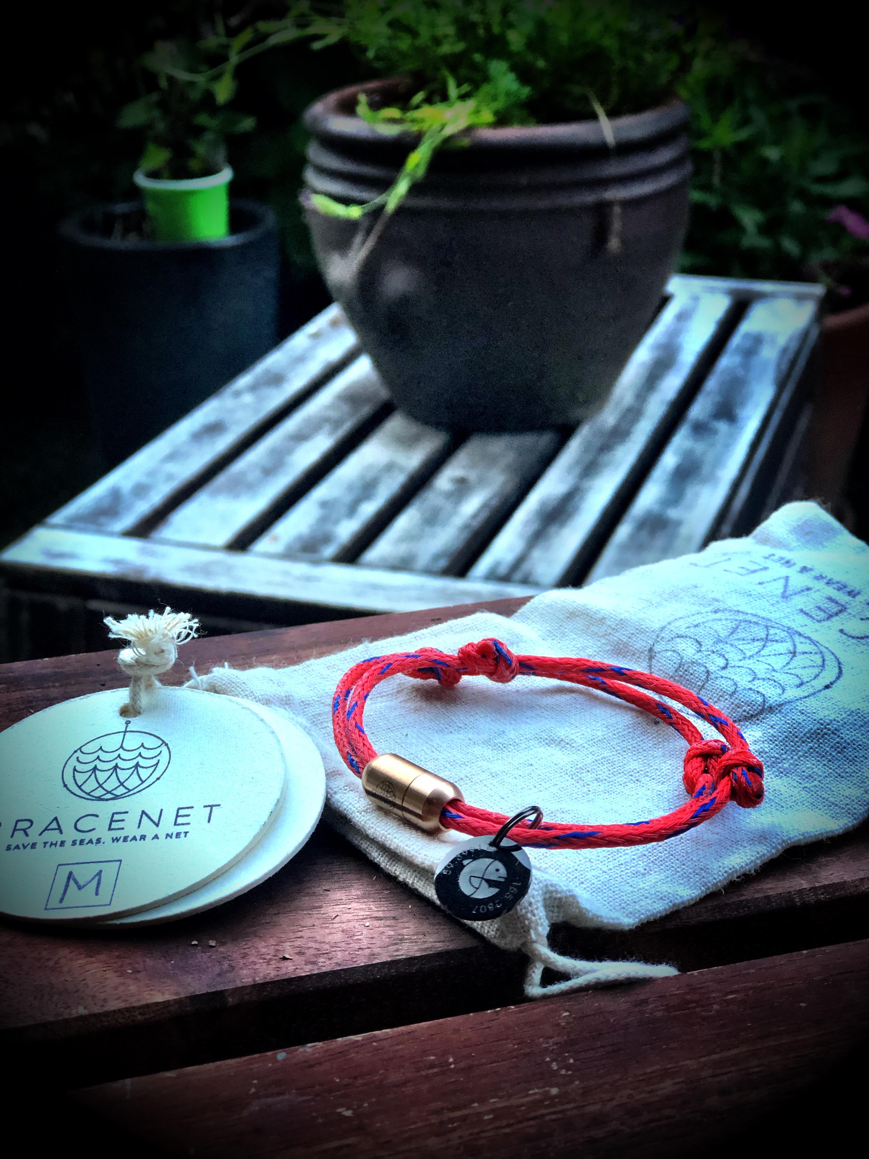Eva x Bracenet - Recycled Ghost-Net Bracelet