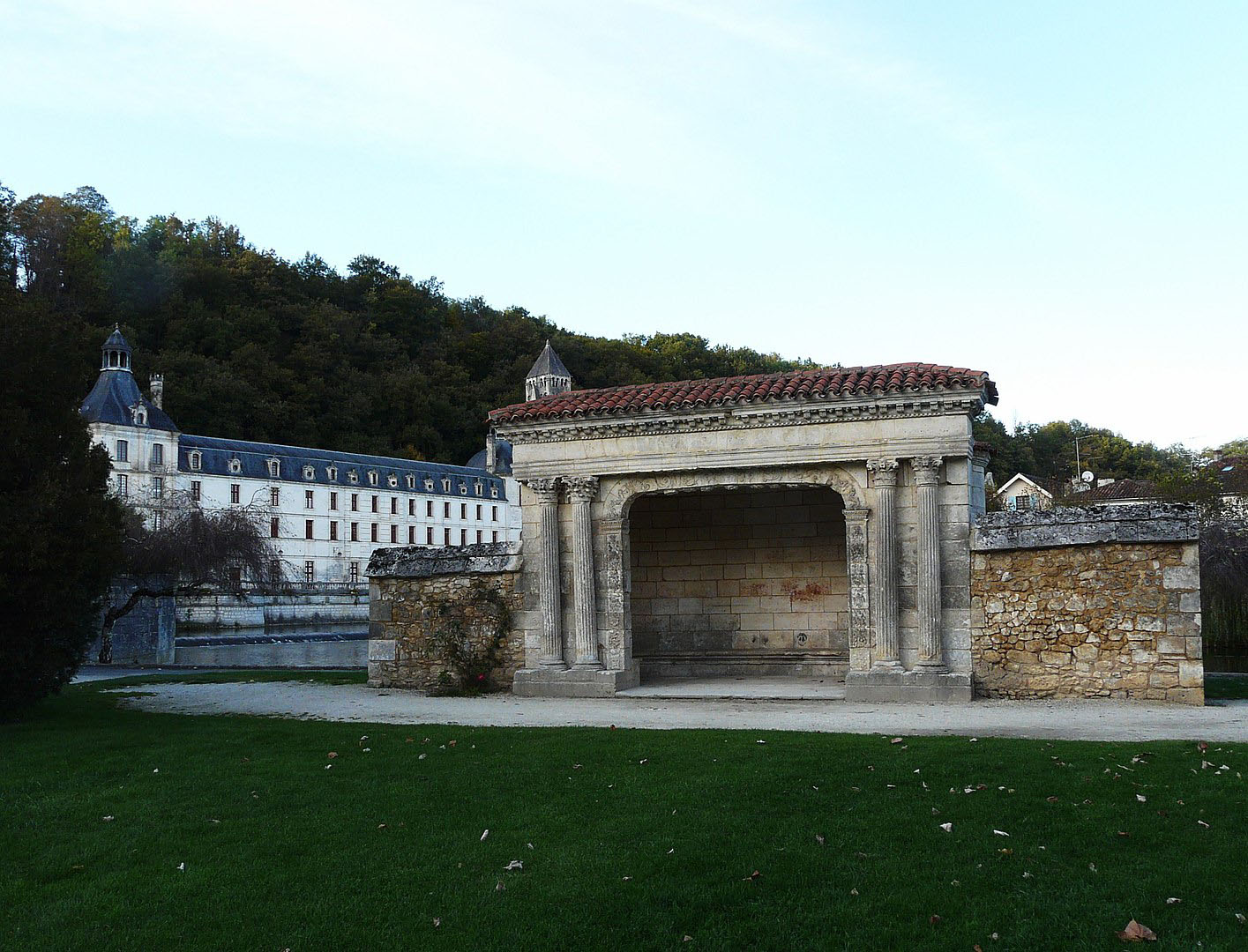 Jardin des moines - Brantôme