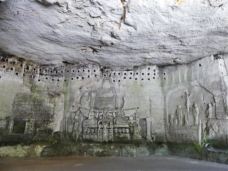 Sculptures et gravures - Abbaye de Brantôme