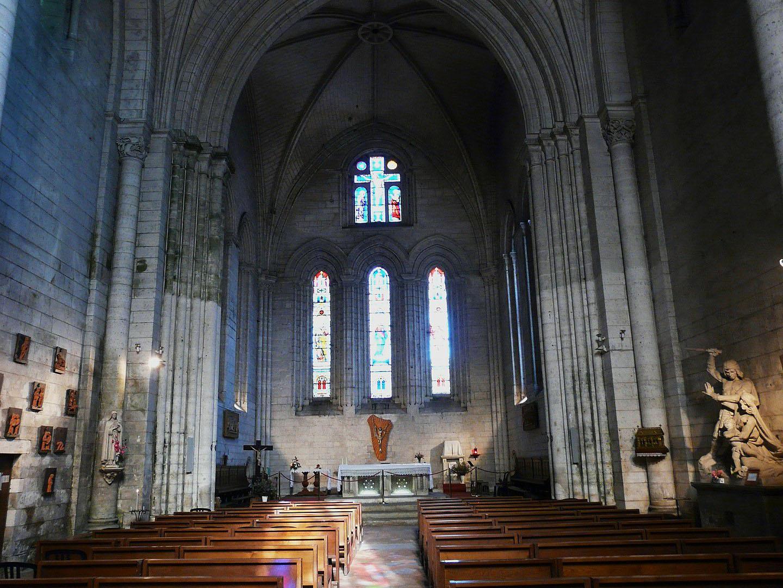 Intérieur - Abbaye de Brantôme