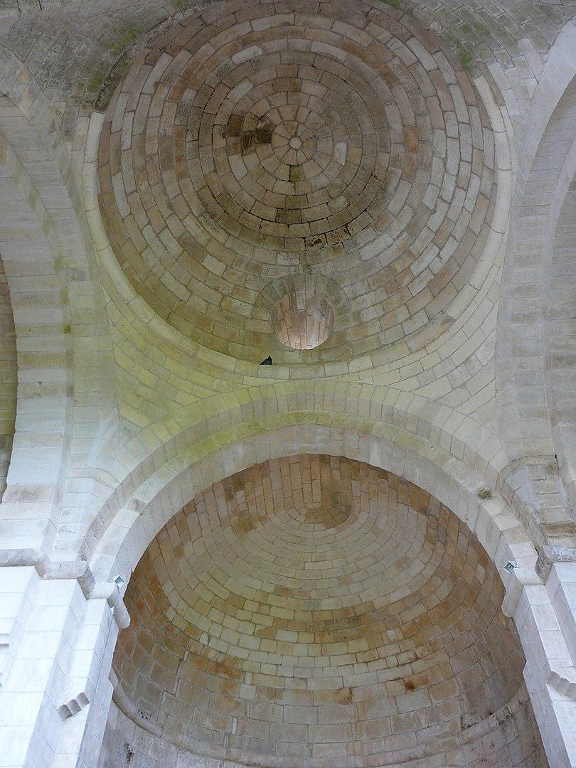 Voute - Abbaye de Boschaud