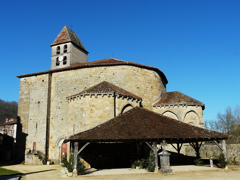 Église de Floralies de Saint Jean de Côle