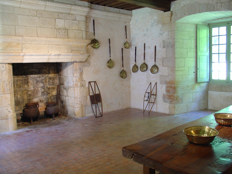 Intérieur du Château de Puyguilhem