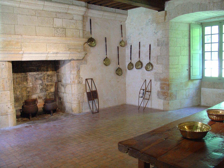 Inside Château de Puyguilhem