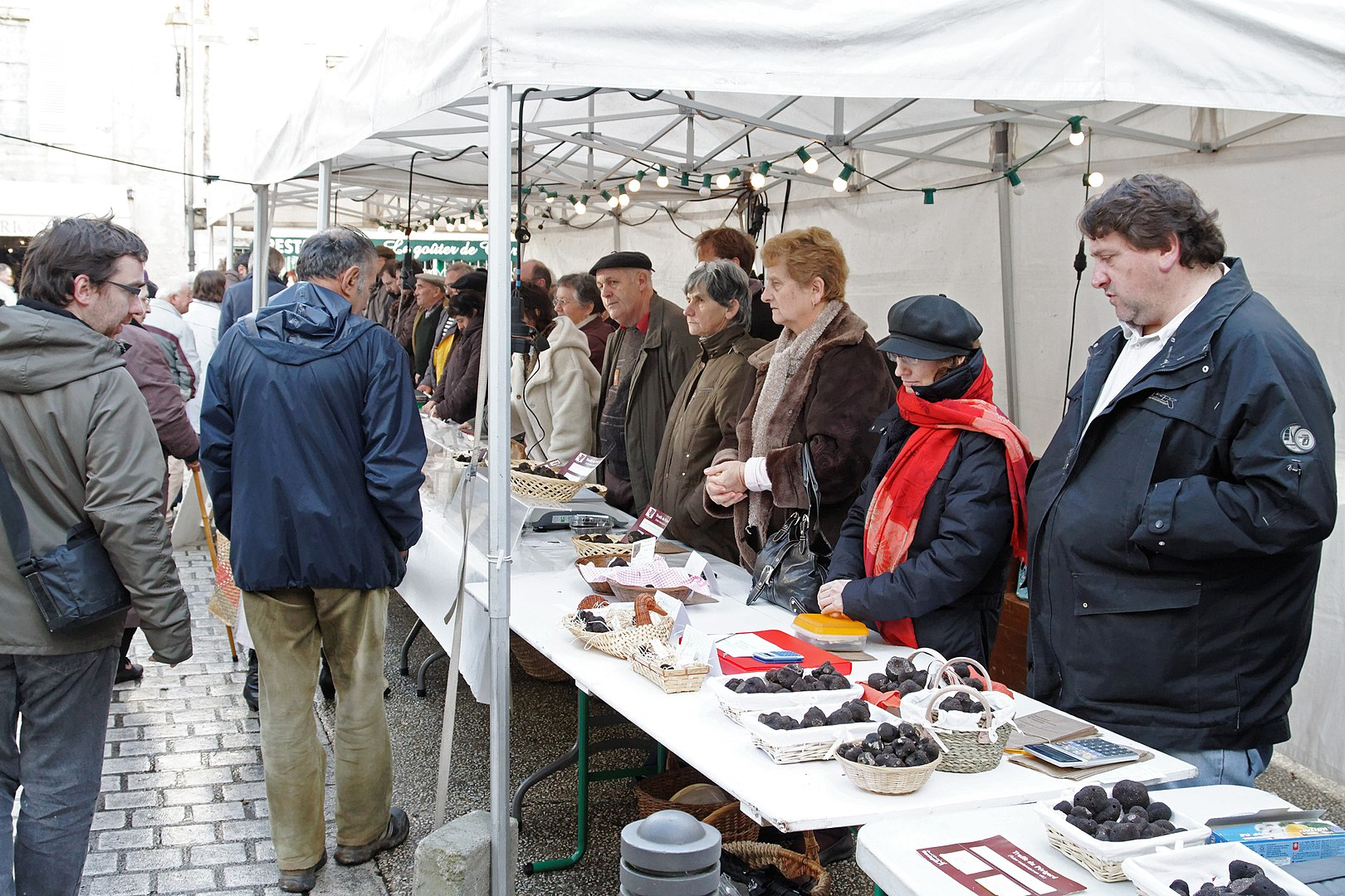 Truffle market - Perigueux