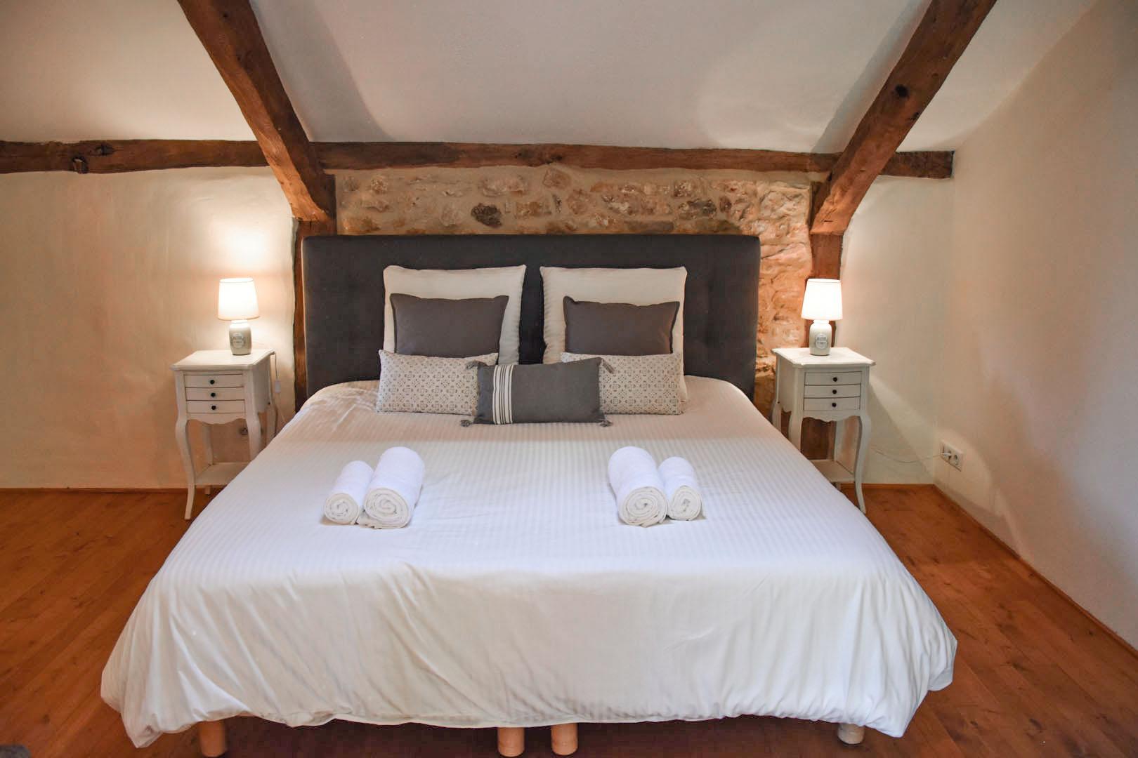 in-suite master bedroom