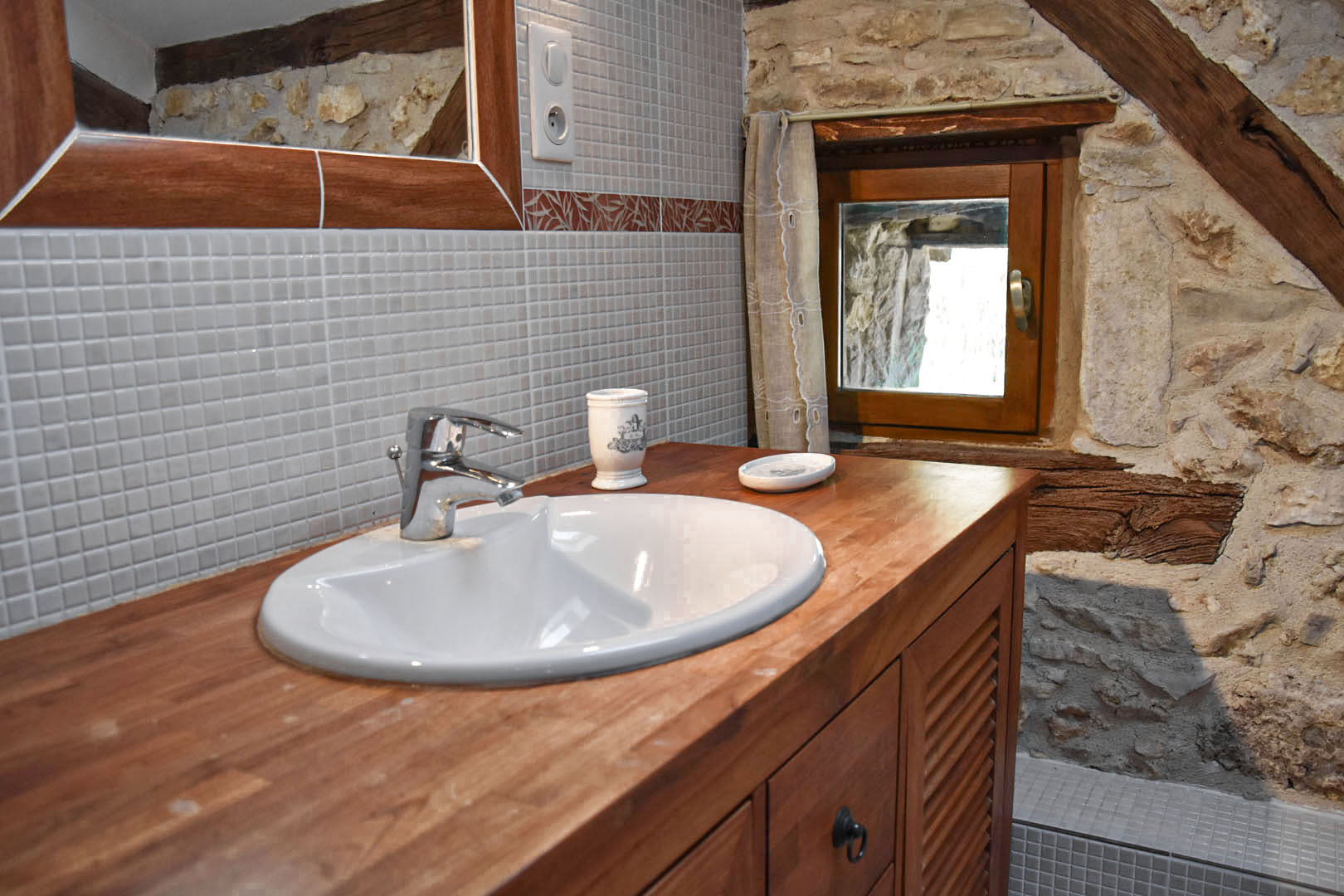 in-suite master bathroom