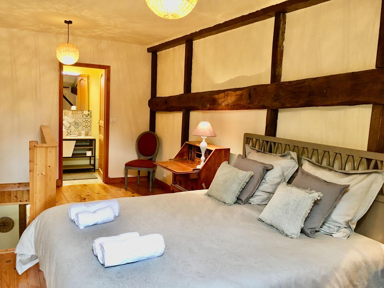 In-suite double bedroom