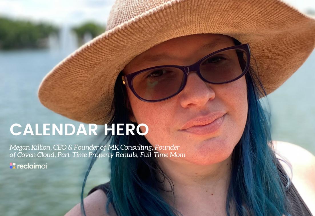 Calendar Heroes: Megan Killion, Founder of Coven Cloud & MK Consulting