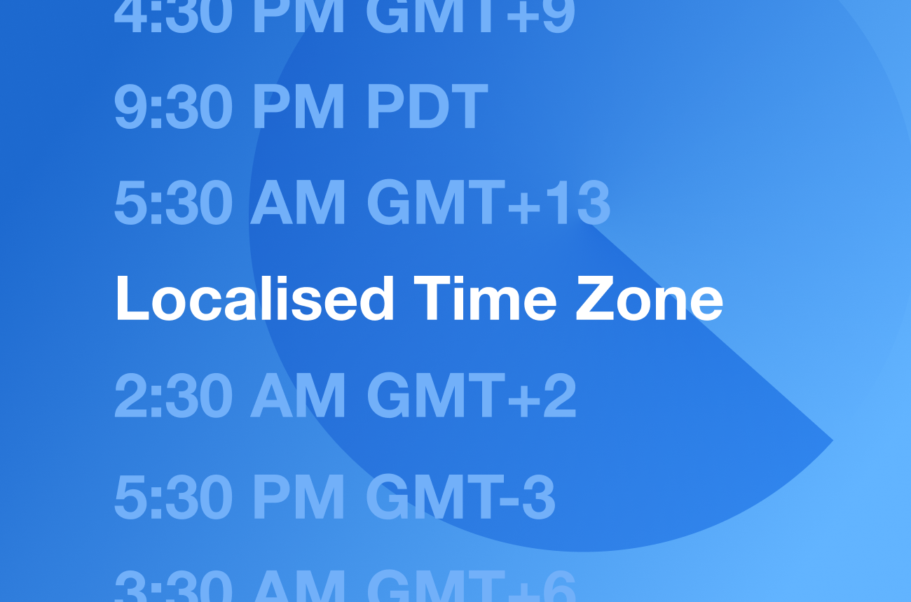 Display an Event in a Users Local Time Zone in Webflow
