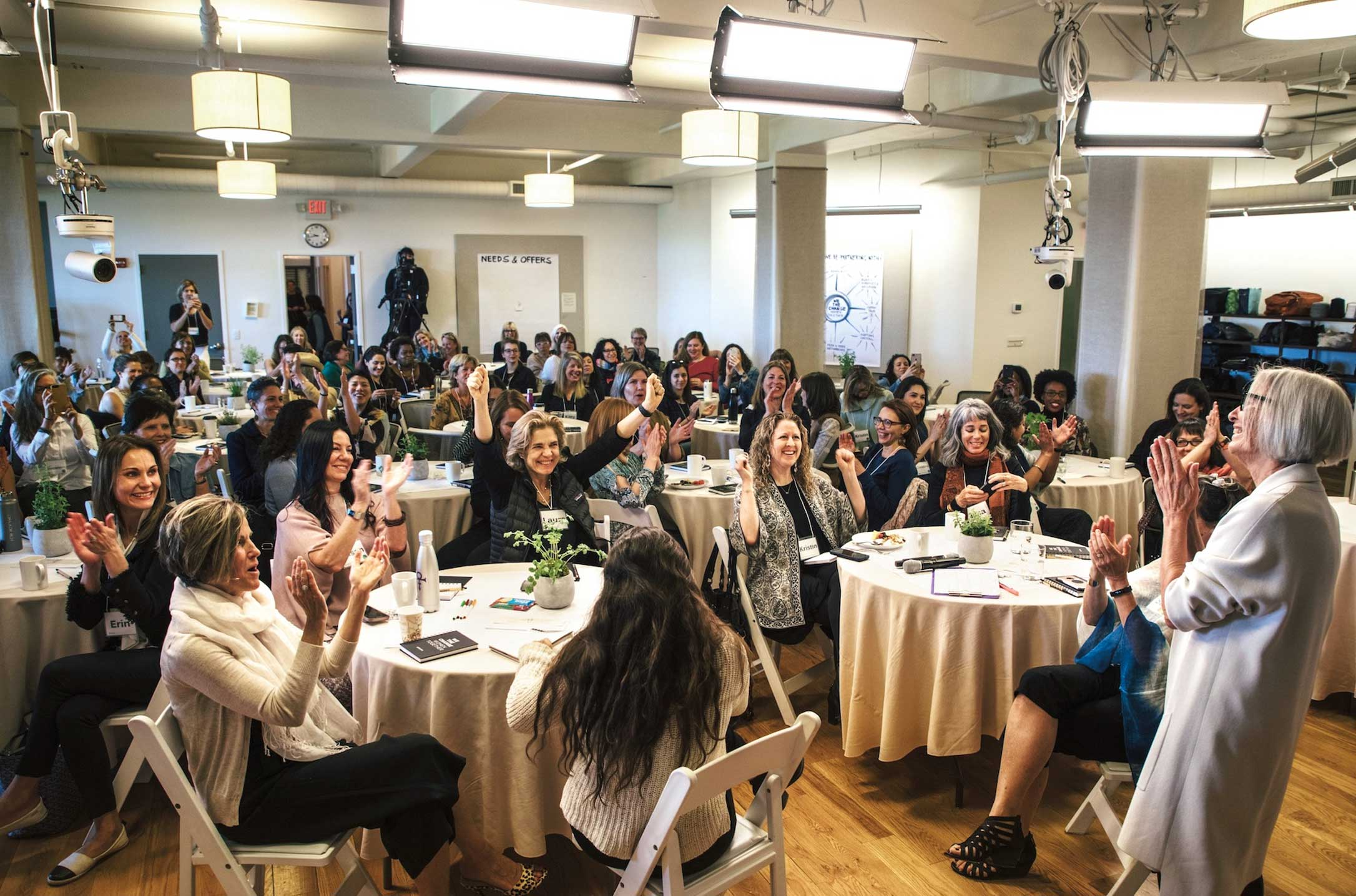An annual gathering of female CEOs of B Corps