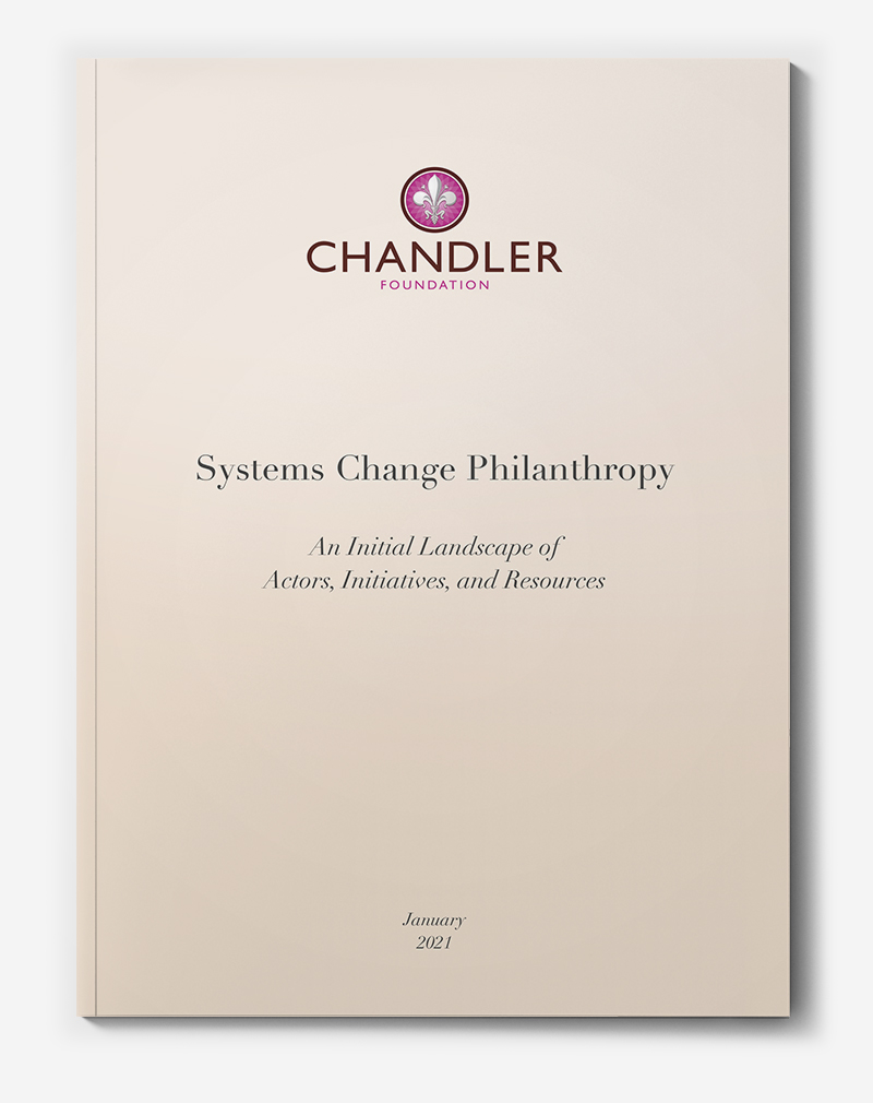 Systems Change Philanthropy