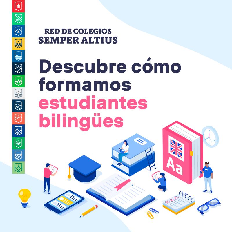 Descubre cómo formamos estudiantes bilingües
