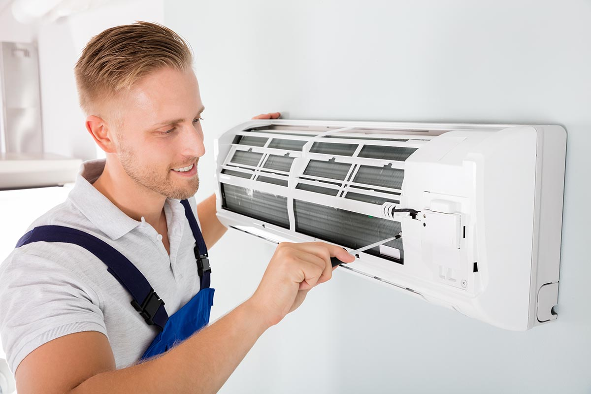 ductless ac wall unit repair