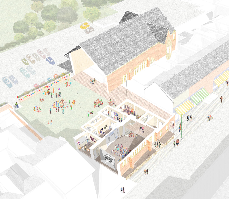 Visual: Proposal for Kirkham Arts & Heritage Centre/Community Cinema