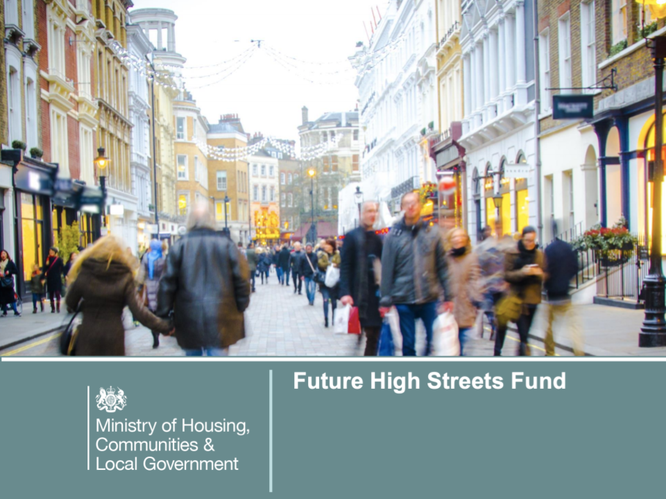 FHSF funding image from DCMS