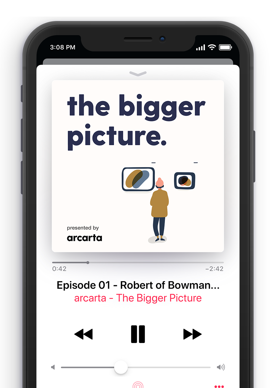Bigger Picture Podcast on Mobile Player