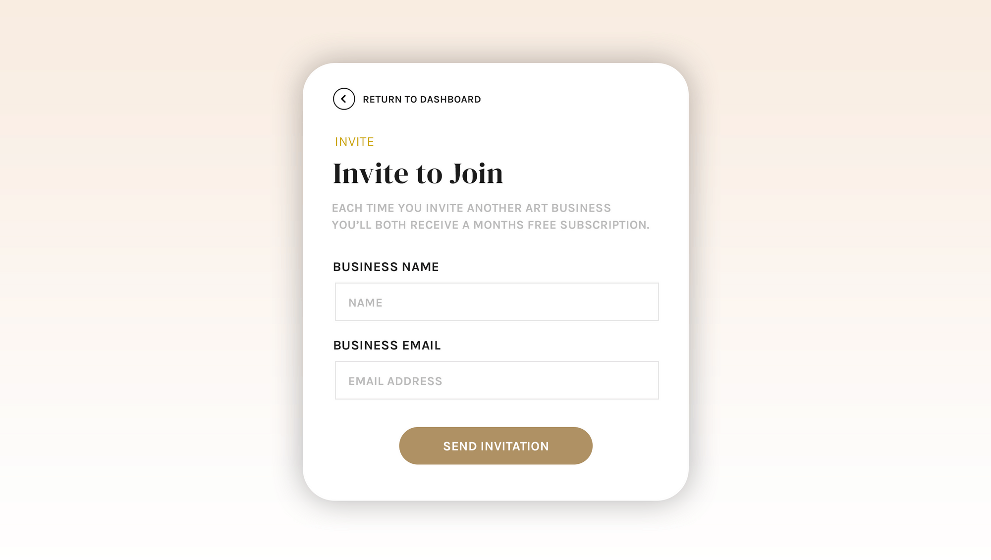 invite to join form