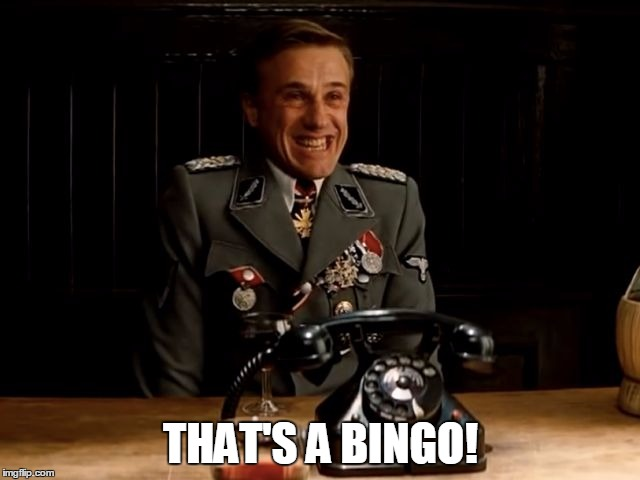 Image tagged in bingo - Imgflip