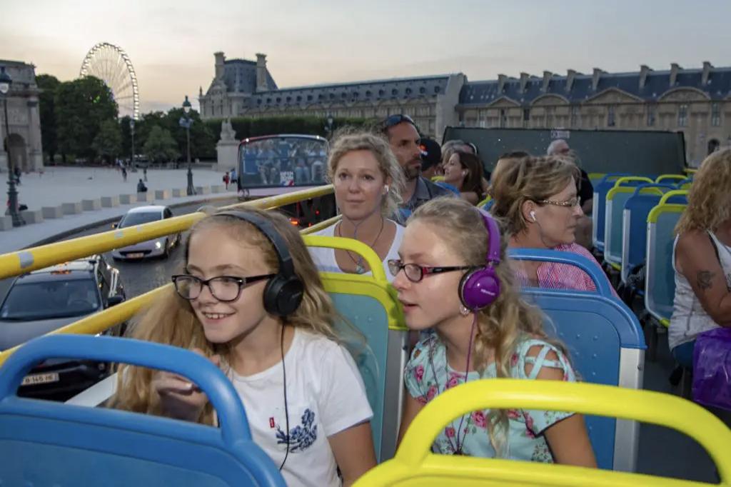 Visite familiale par Open Tour Paris