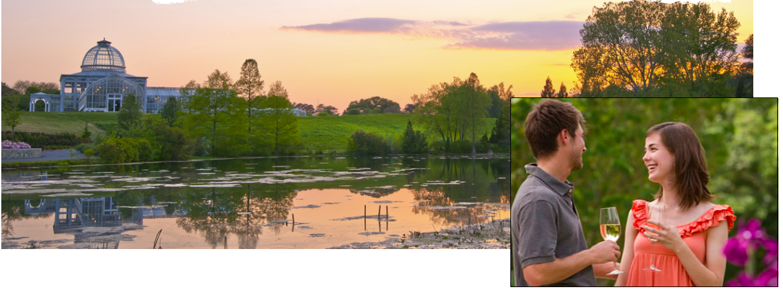 Forfait Dîner romantique au Lewis Botanical Garden Virginie