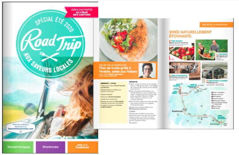 Coeur des Cantons Road Trip brochure 2020