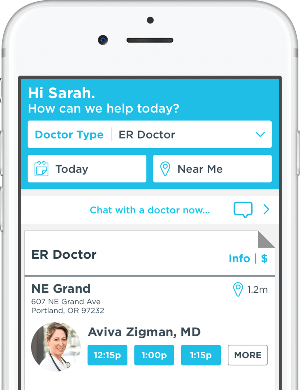 Download Our App | Healthcare On-Demand | ZOOM+Care
