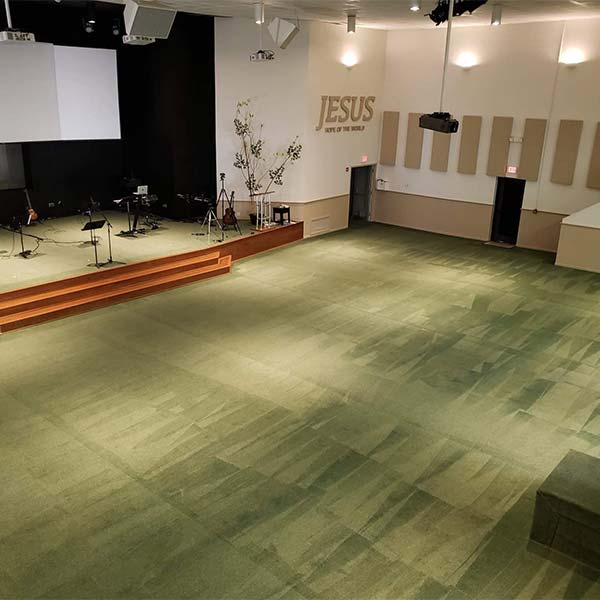 Carpet Cleaning in Northridge Church