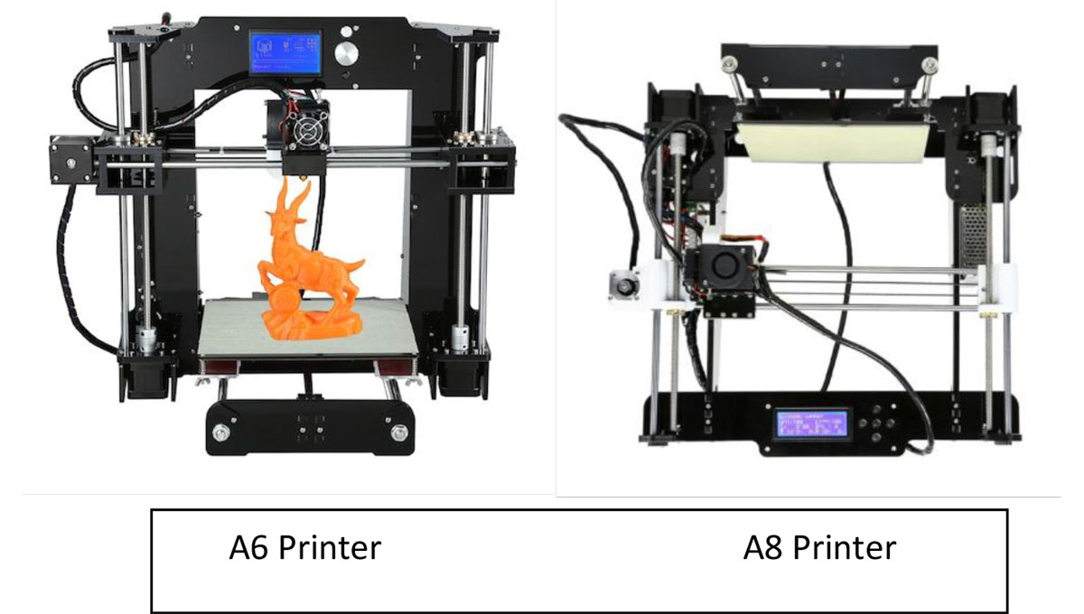 A6 Vs. A8 3D Printer: Which One Should You Choose? | 3D Printing Spot