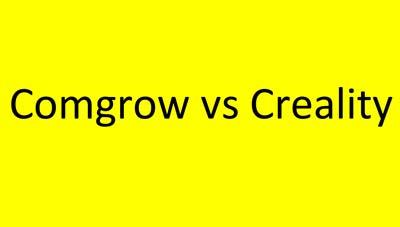 Comgrow vs Creality: Pros & Cons of Both | 3D Printing Spot