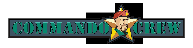 Commando crew hero logo