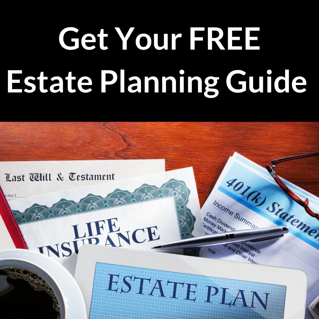 Free Estate Planning Guide ad piece.
