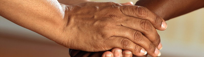 What does chicken pox look like on darker skin?