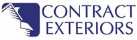 Contract Exteriors logo, exterior siding, roofing, decking, windows, and doors in Charleston, South Carolina