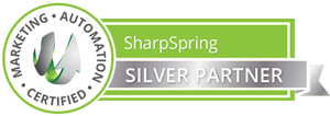 official Sharpspring Marketing Automation Silver  Partner badge