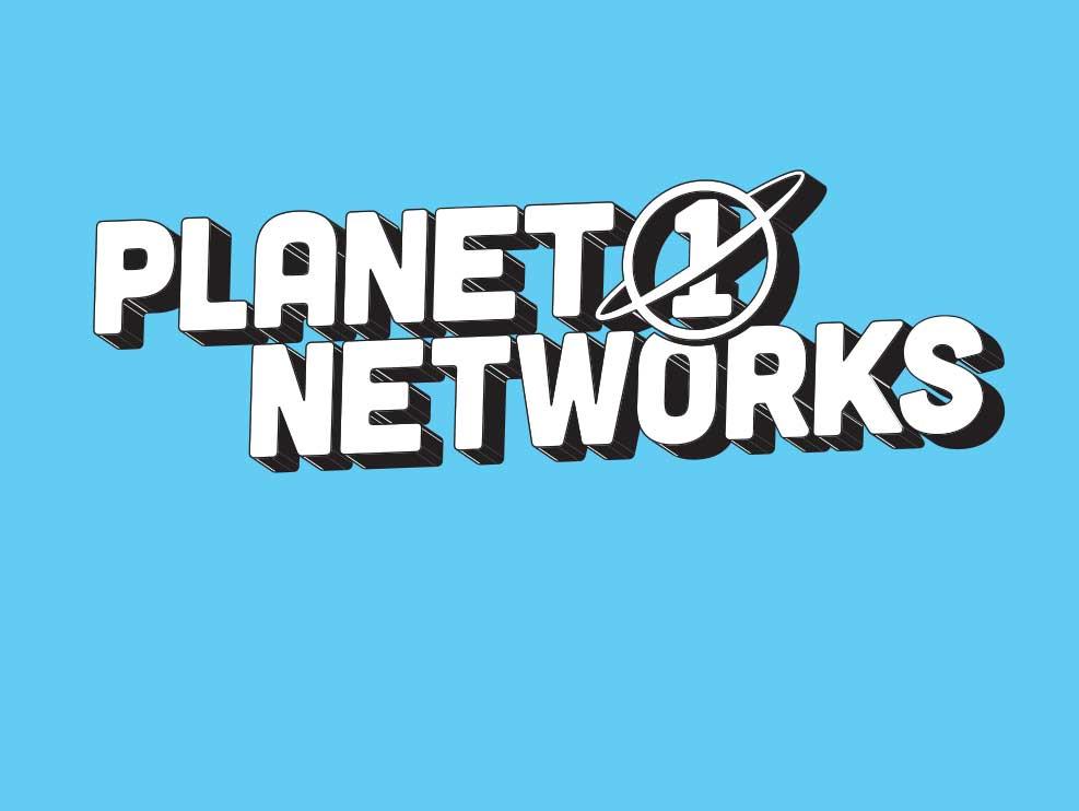 Planet 1 Networks logo in Columbus, Ohio
