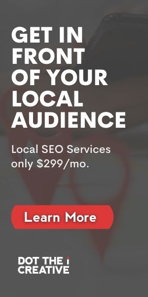 Get in front of your local audience sidebar ad