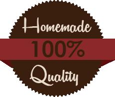 100% Homemade Quality Food