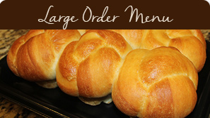 Large Order Menu