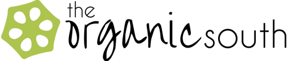 The Organic South Lotus Logo