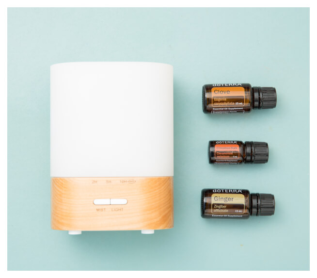 doTERRA oil with diffuser