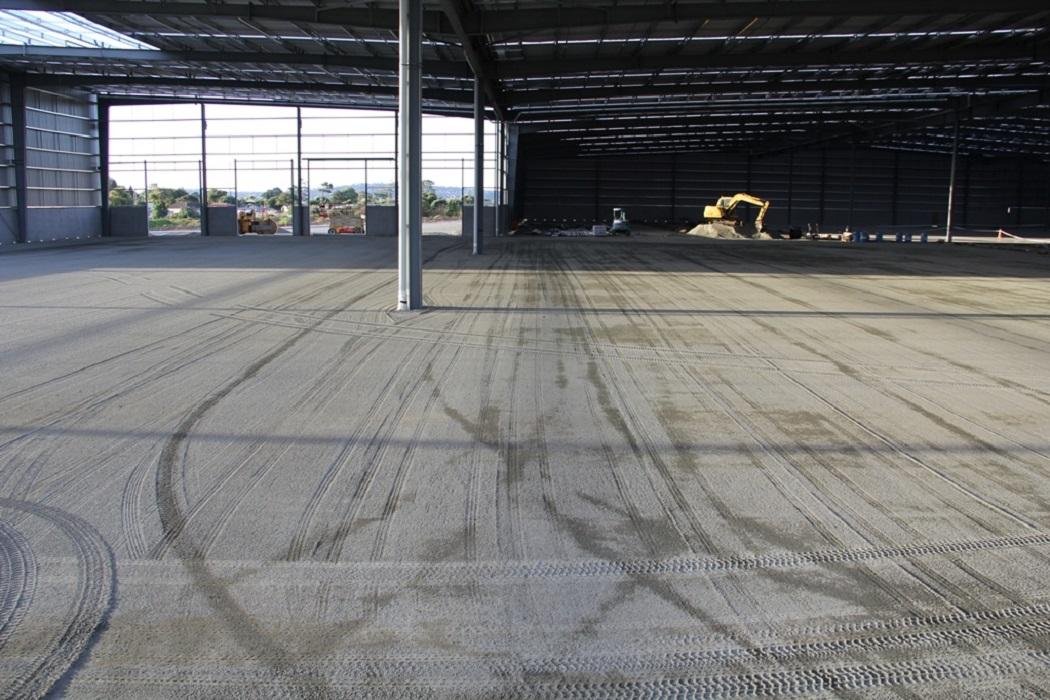 Final floor prep pre concrete pour
